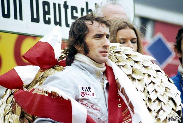 Jackie Stewart beendete seine Laufbahn 1973 als Weltmeister und trat nie wieder in der Formel 1 an - Foto: Sutton