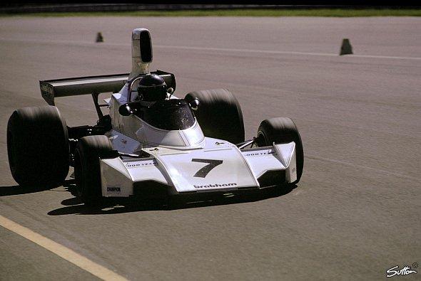 In Monza fuhren 1974 mehrere Piloten auf Brabham, unter ihnen auch Carlos Reutemann