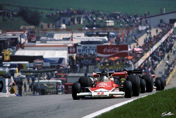 In den 70ern zählte der Österreichring zu den schnellsten und beliebtesten Rennstrecken weltweit