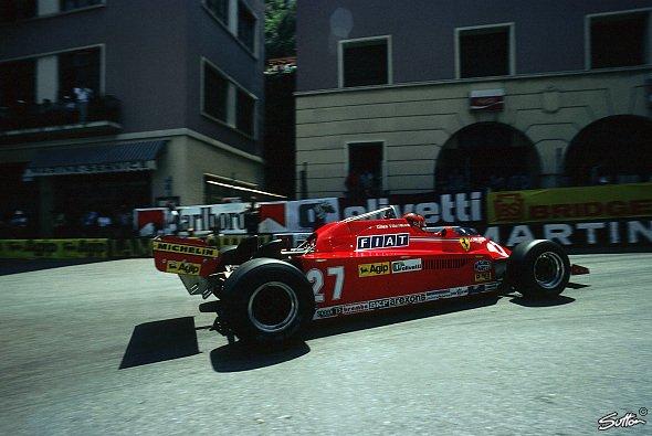 Gilles Villeneuve fuhr 66 Rennen für Ferrari und holte 6 Siege