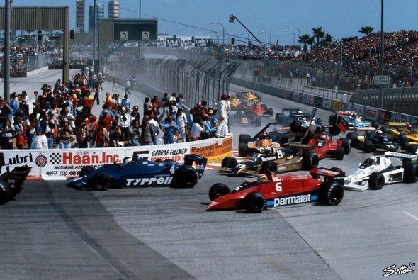 Die Formel 1 fuhr zwischen 1976 und 1983 in Long Beach