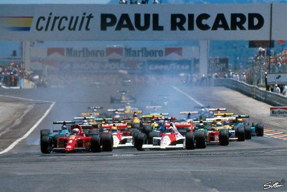 Der Circuit Paul Ricard feiert nach 28 Jahren sein Comeback in der Formel 1 - Foto: Sutton