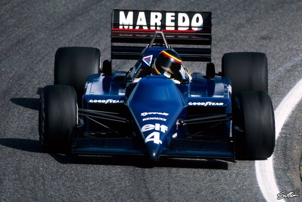 Stefan Bellof war 1984 der deutsche Hoffnungsträger in der Formel 1 - Foto: Sutton
