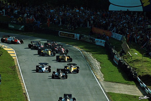 Die Formel 1 1983 in Brands Hatch - Foto: Sutton
