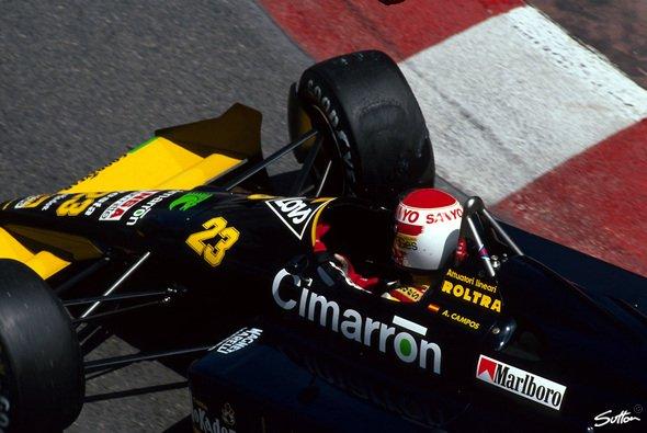 Adrian Campos wurde als 17-facher GP-Teilnehmer in seinem Heimatland Spanien zu einer Motorsport-Institution - Foto: Sutton