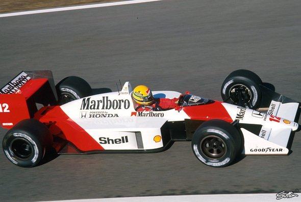 Ayrton Senna hatte den Honda-Turbo im Heck