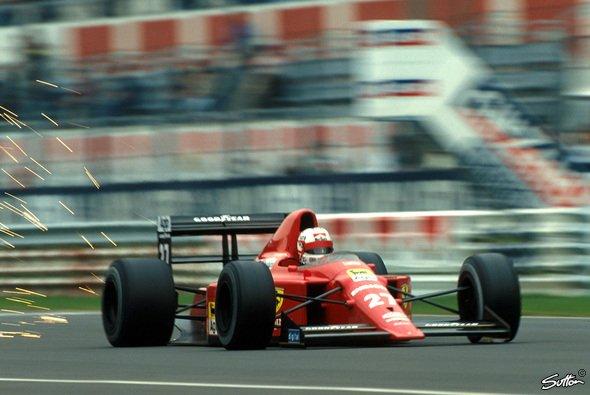 Nigel Mansell hatte 1989 mit seinem Ferrari 640 zu kämpfen