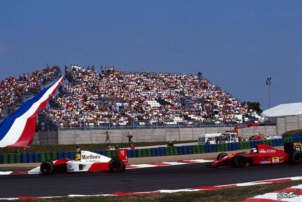 Die Formel 1 hat in Frankreich eine bewegte Geschichte - Foto: Sutton