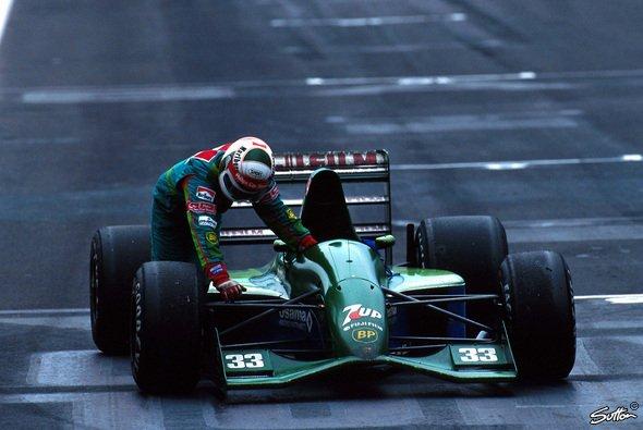 Andrea De Cesaris wurde für seine Aktion in Mexiko 1991 mit Rang vier belohnt - Foto: Sutton