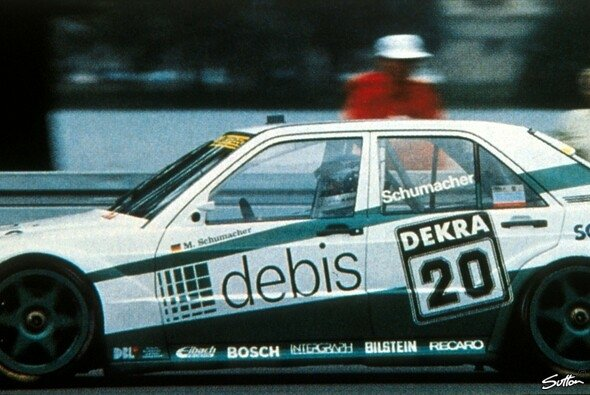 Michael Schumacher war 1991 Gaststarter in der DTM - Foto: Sutton