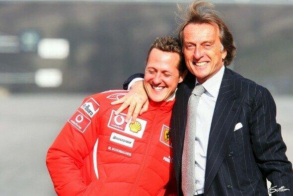Luca di Montezemolo und Michael Schumacher prägten eine Ära bei Ferrari - Foto: Sutton