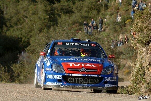 Loeb siegte in Spanien. - Foto: Sutton