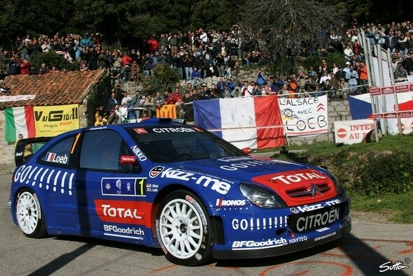 Loeb siegte in Korsika. - Foto: Sutton