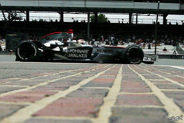 Kein Glück auf dem Brickyard für McLaren - Foto: Sutton