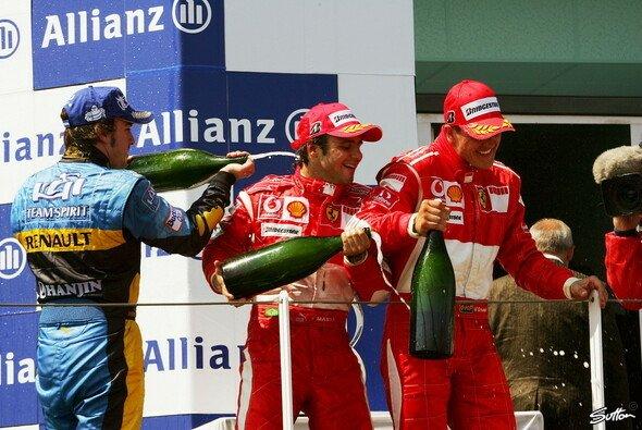 Ferrari wieder ganz oben - Foto: Sutton