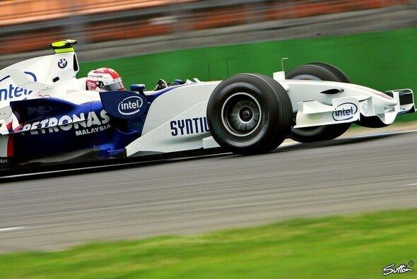 Kubica war wieder einmal der Schnellste am Freitag. - Foto: Sutton