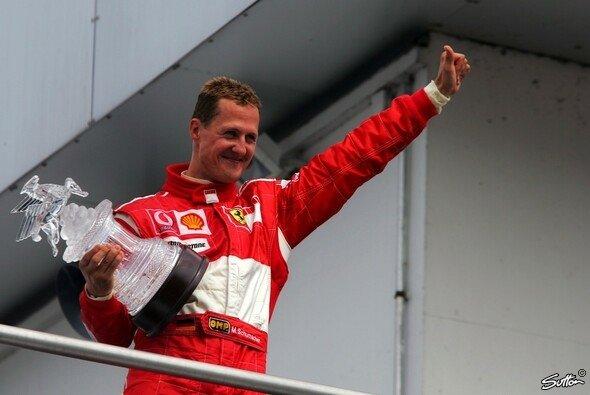 Michael Schumacher gewann neun Mal auf deutschem Boden - vier Mal davon den Deutschland GP - Foto: Sutton