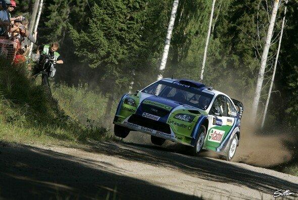 Grönholm siegte in Finnland. - Foto: Sutton