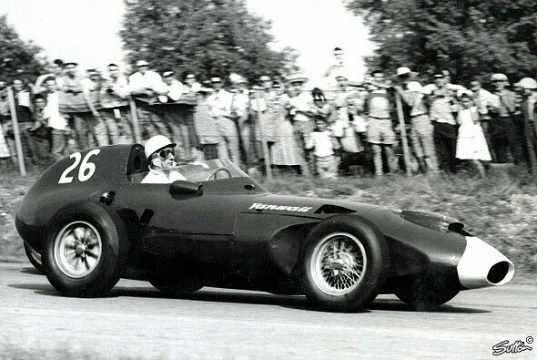 Stirling Moss gewann 1958 in Marokko - Foto: Sutton