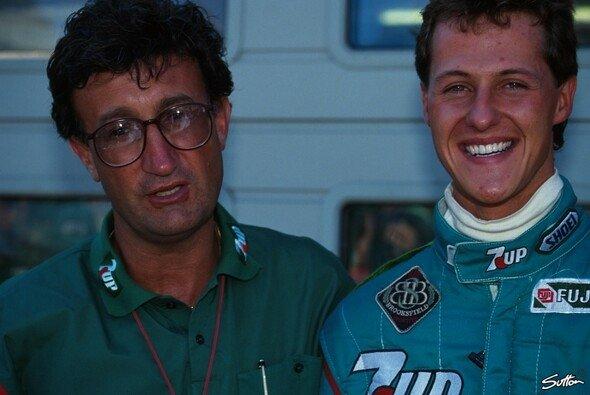 Michael Schumacher und sein Förderer Eddie Jordan