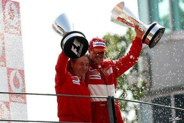 Michael Schumacher und Jean Todt: eine echte Freundschaft