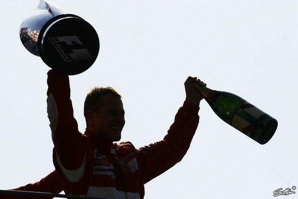 Michael Schumacher ist noch immer in den Herzen zahlreicher Tifosi