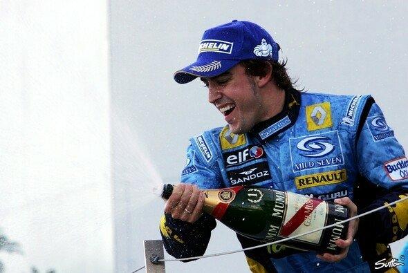 Fernando Alonso kehrt an den Ort seines größten Triumphs zurück: Formel-1-Comeback bei Renault - Foto: Sutton