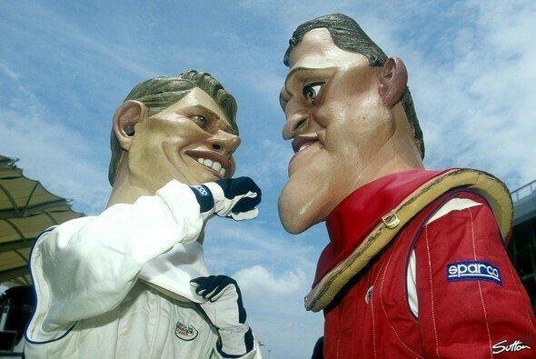 Häkkinen und Schumacher - zwei äußerst unterschiedliche Charaktäre
