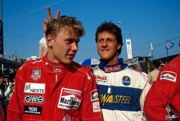 Häkkinens Schicksal gibt Hoffnung für Schumacher - Foto: Sutton