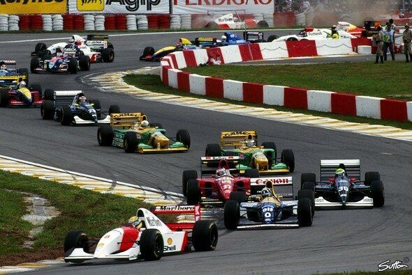 Der Brasilien GP zählt zu den traditionsreicheren Rennen im Kalender - Foto: Sutton