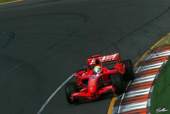 Vollgas im Park: Felipe Massa hat Lust darauf. - Foto: Sutton