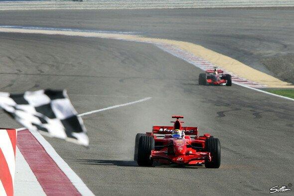 Felipe Massa schlug zurück. - Foto: Sutton