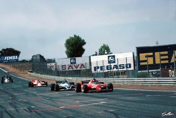 Für Fernando Alonso war der Respekt unter Fahrern zu Gilles Villeneuves Zeit noch größer - Foto: Phipps/Sutton