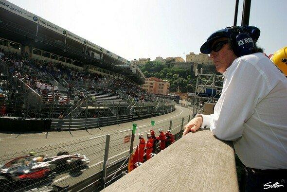 Jackie Stewart hat die Formel 1 genau im Blick