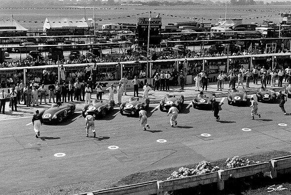 1955 kam es in Le Mans zu einer großen Katastrophe - Foto: Sutton