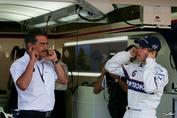 2007 durfte Sebastian Vettel unter Mario Theissens Anleitung sein erstes Formel-1-Rennen fahren