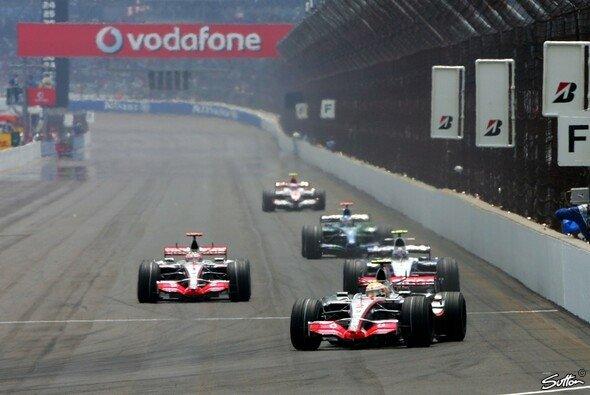 2007 war die Formel 1 zum letzten Mal in Indianapolis unterwegs. - Foto: Sutton