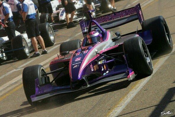 2007 im Champ Car: Im amerikanischen Formelsport kennt sich Katherine Legge bereits bestens aus