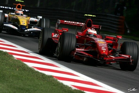 Kimi Räikkönen war nicht lange unterwegs. - Foto: Sutton