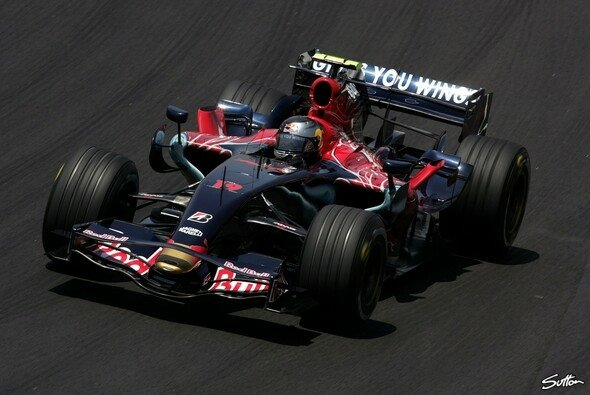 Sebastian Vettel war zufrieden - Foto: Sutton
