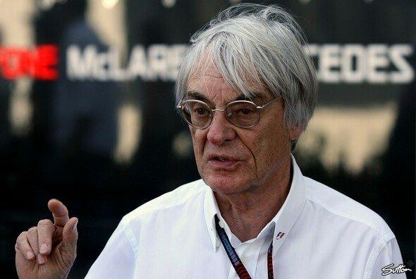Bernie Ecclestone träumte lange von der Formel 1 in Las Vegas - Foto: Sutton