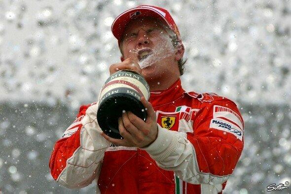 Kimi Räikkönen ist schon wieder in Maranello angekommen