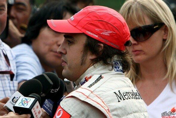 Fernando Alonso durfte bei McLaren nicht die Nummer 1 sein - Foto: Sutton