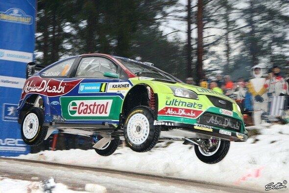 Latvala springt dem Premieren-Sieg entgegen - Foto: Hardwick/Sutton