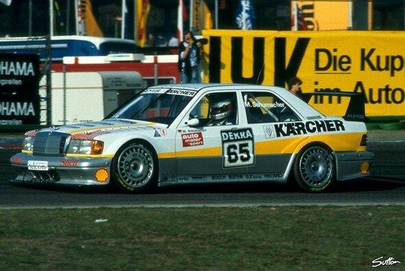 Michael Schumacher startete 1990 beim Saisonfinale der DTM in Hockenheim - Foto: Sutton
