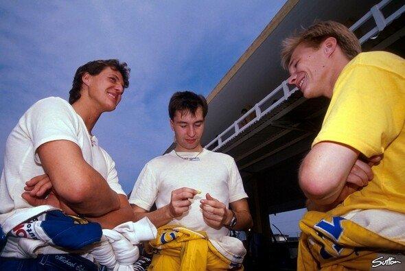 1990 in der Formel 3: Michael Schumacher, Heinz-Harls Frentzen und Mika Salo