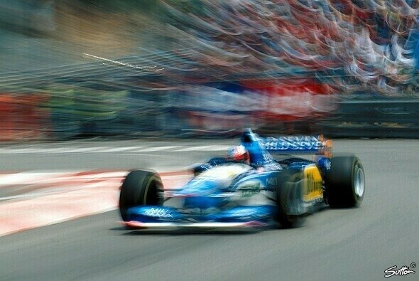 Michael Schumacher 1995 in Monaco - Foto: Sutton