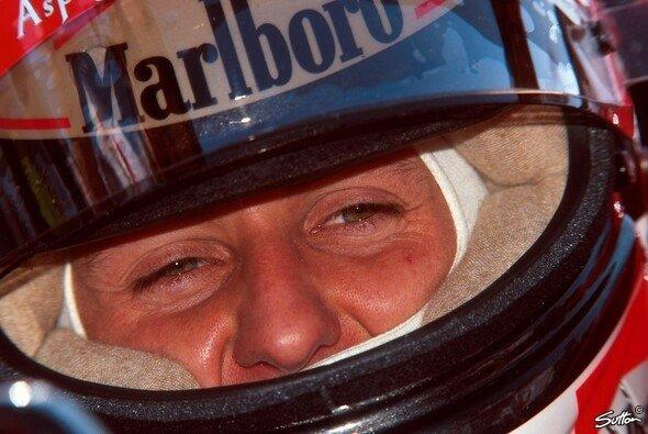 Michael Schumacher engagiert sich seit Mitte der 90er Jahre für Kinder in Bosnien