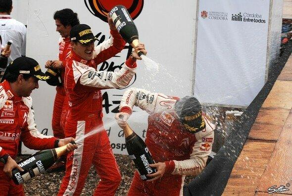 Loeb gewann die Rallye Argentinien. - Foto: Sutton