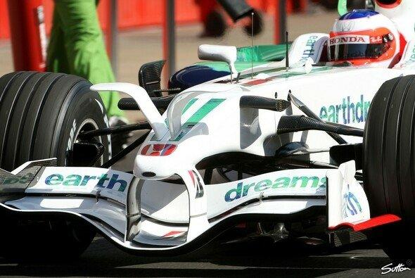 Rubens Barrichello führte die Öhrchen aus - Foto: Hartley/Sutton